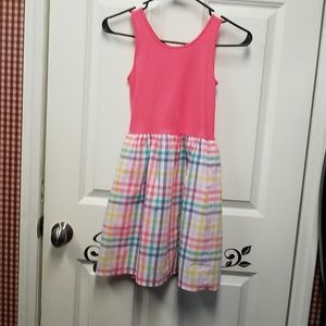 Girls sundress t-shirt like fabric on top